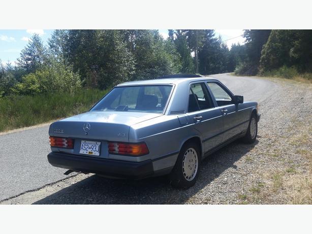 1987 mercedes benz 190e quick sale outside comox valley for 1987 mercedes benz 190e