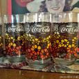 Set of 4 1970's  Coca Cola Glasses