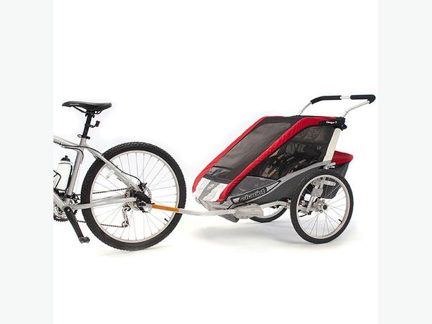 new thule chariot cougar 1 stroller kit 2 bike. Black Bedroom Furniture Sets. Home Design Ideas