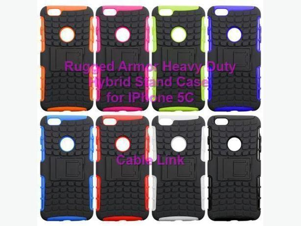 Rugged Heavy Duty Hybrid Case For Apple iPhone 5C