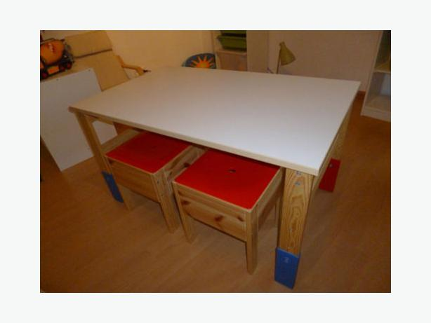 Ikea Sansad Kids Table And Stools