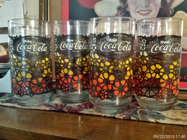 1970's Coca Cola Glasses