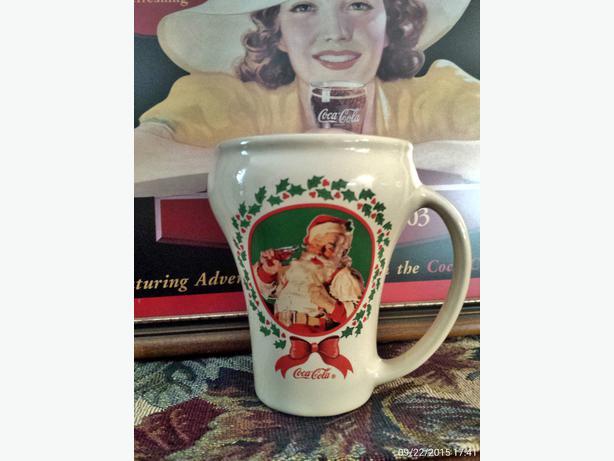 Very Rare Coca Cla Christmas Mug