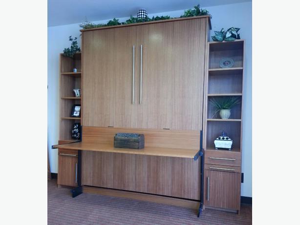 Murphy Beds Langford : Murphy bed studio desk west shore langford colwood