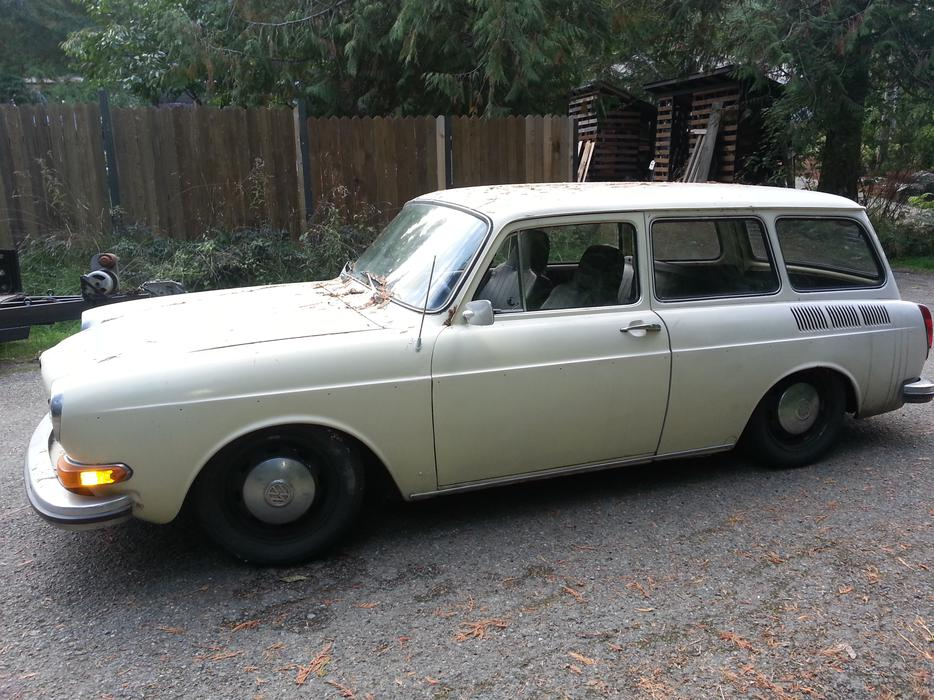 1971 Vw Squareback Malahat Including Shawnigan Lake