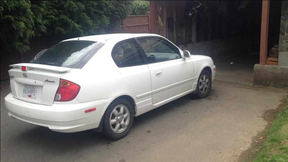 2003 Hyundai Accent Need Gone West Shore Langford