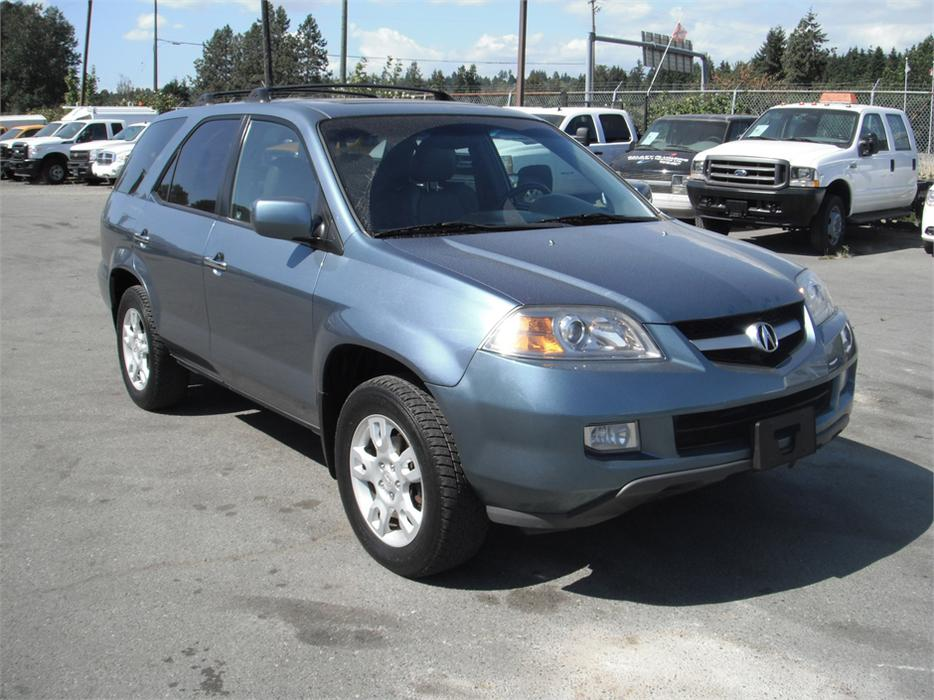 2006 Acura Mdx Touring With Navigation And Rear Dvd System