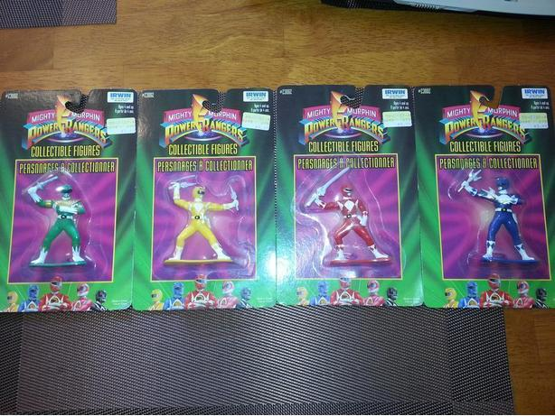Mighty Morhphin Power Rangers Collectible Figures