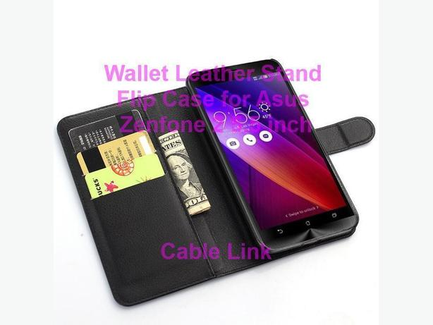 Wallet Leather Flip Stand Case for Asus Zenfone 2 5.5""