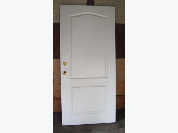 white warnock hersey solid wood listed fire door 20 minute rating