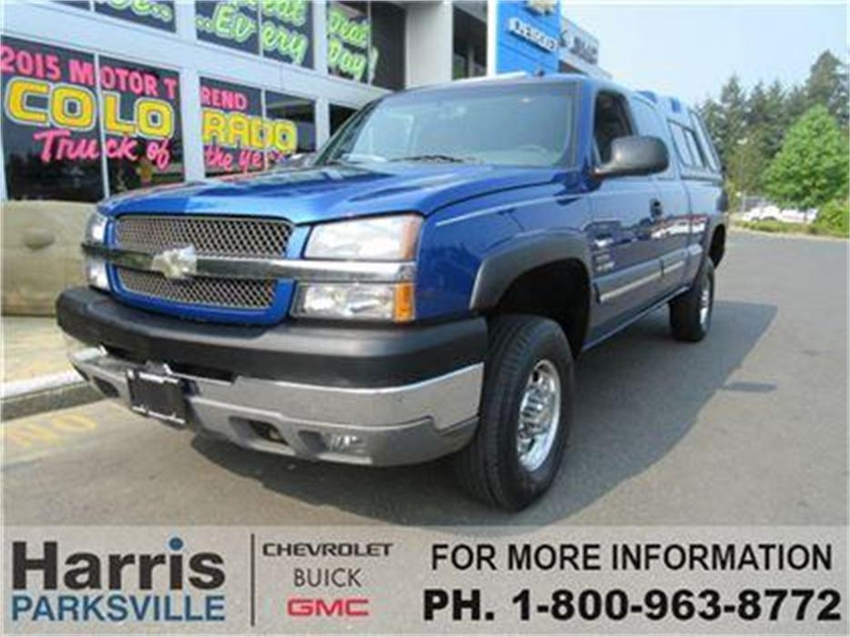 Chevrolet Silverado 2500hd Gatineau >> 2003 Chevrolet Silverado 2500HD LT/Leather/Diesel/Allison Tran Parksville, Nanaimo