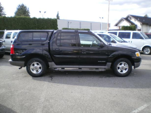 2001 ford explorer sport trac 4x4 leather canopy surrey incl white rock vancouver mobile. Black Bedroom Furniture Sets. Home Design Ideas