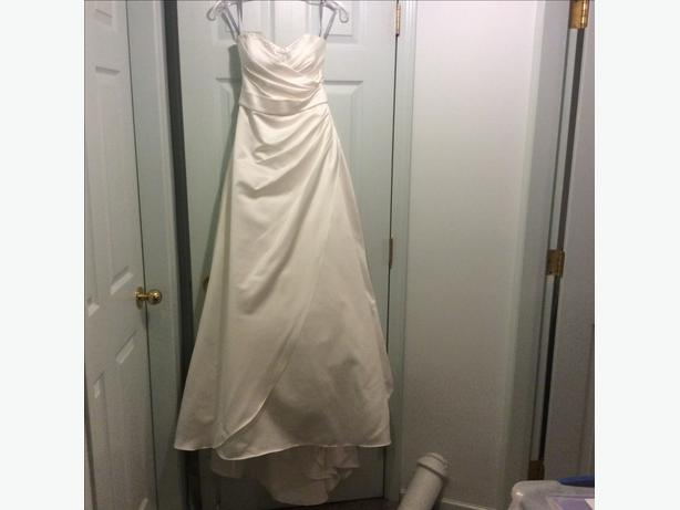 Alfred angelo wedding dress victoria city victoria for Used wedding dresses victoria bc
