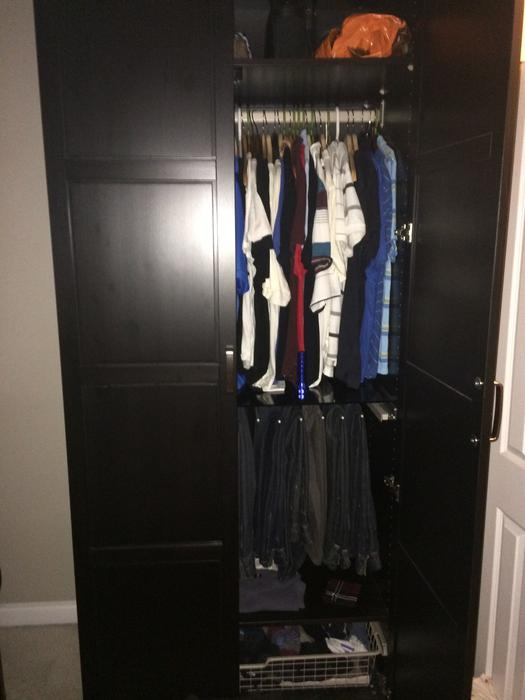 ikea pax unit wardrobe closet organizer saanich