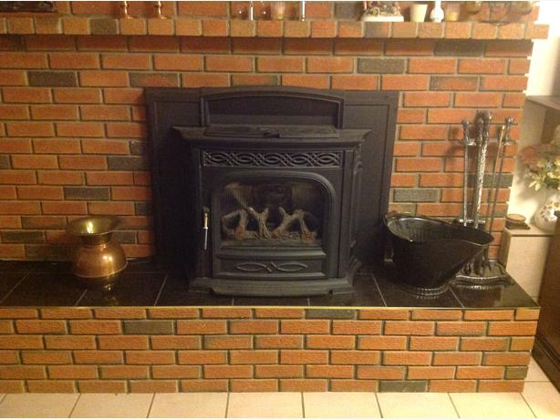 fireplace insert pellet stove outside victoria victoria