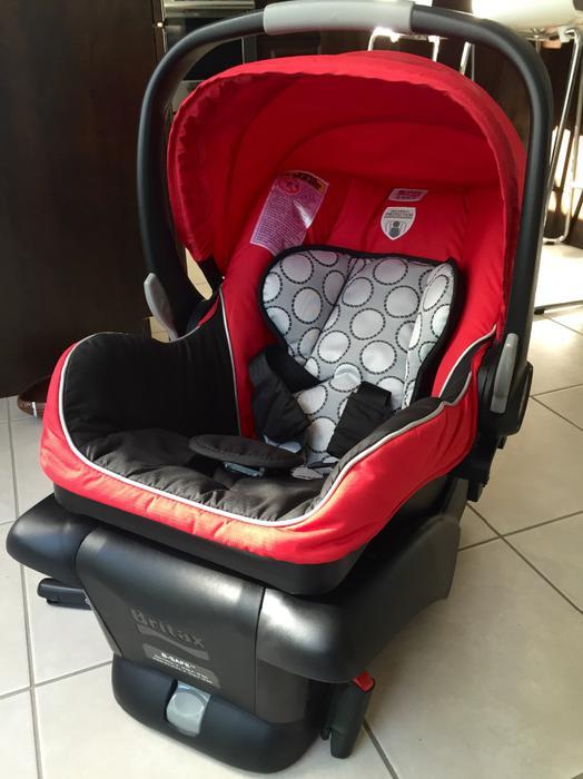 100 britax b safe infant car seat red aylmer sector quebec gatineau mobile. Black Bedroom Furniture Sets. Home Design Ideas
