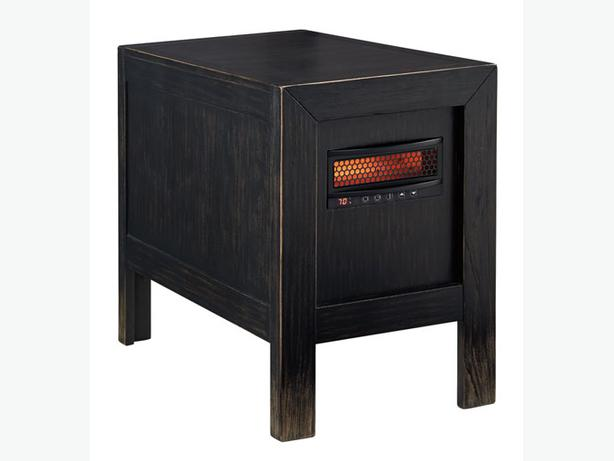 New Gavelston Chairside End Table with Heater