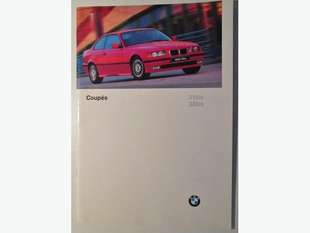 1995 BMW 3 series coupes brochure