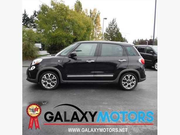 2014 fiat 500l trekking pwr pano moonroof bluetooth west for Garage fiat flers
