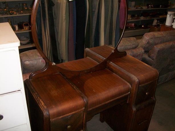Vintage Dresser With Mirror For Sale At St Vincent De Paul On Quadra Saanich Victoria