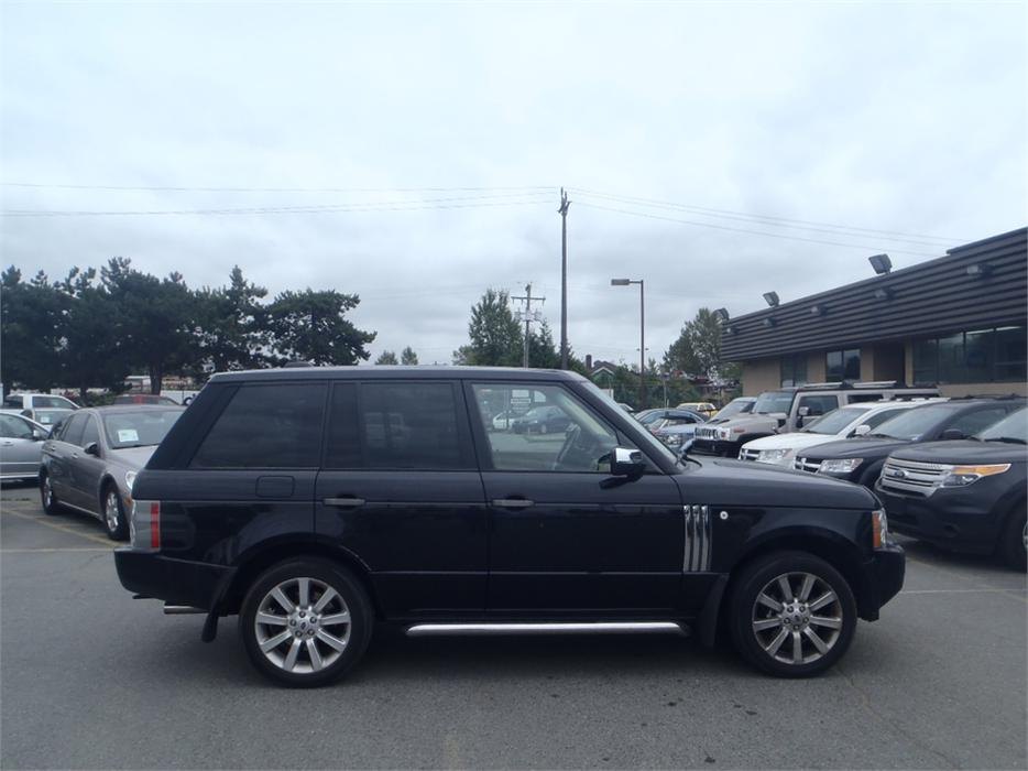 2006 Land Rover Range Rover Supercharged Outside Comox