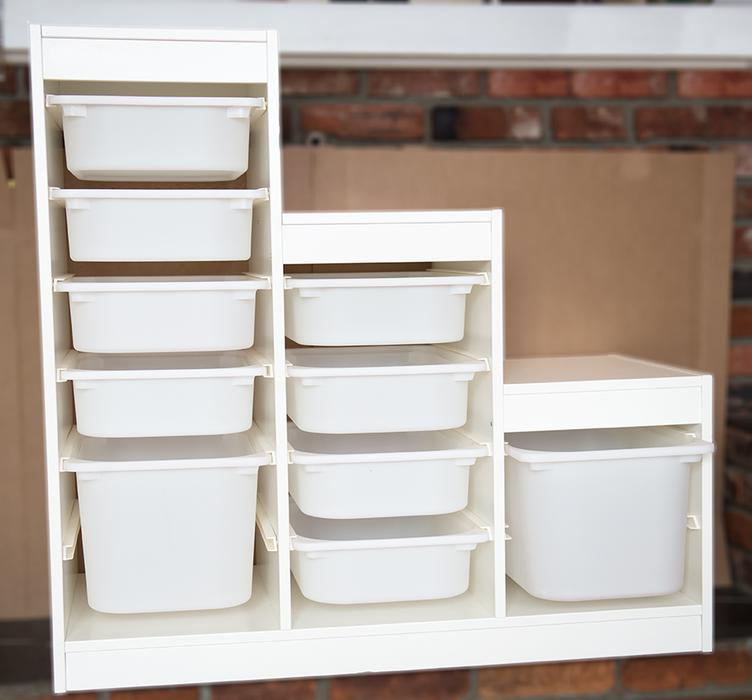 Storage frame boxes from ikea white trofast victoria - Mobile trofast ikea ...