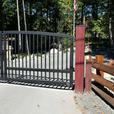 Custom Aluminum Driveway Gates!