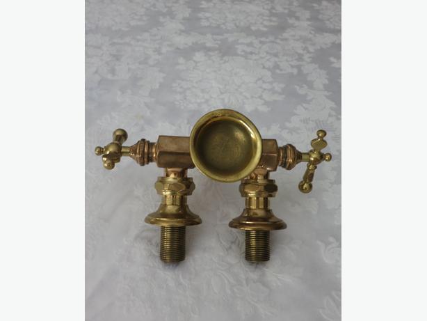 Antique Solid Brass Bathroom Fixtures Saanich Victoria