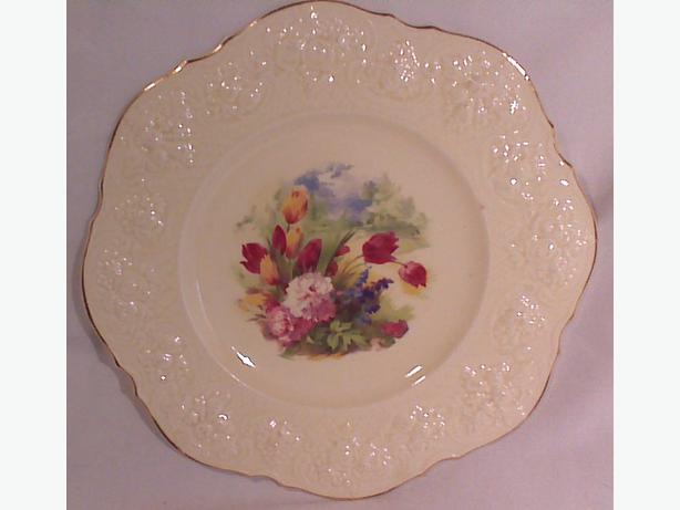 Crown Ducal porcelain serving plate