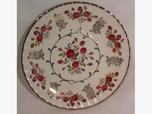 Avon Alpine White ironstone serving plate