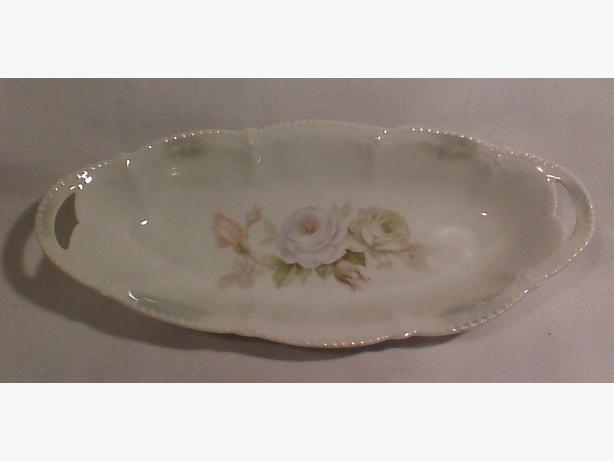 German porcelain serving dish