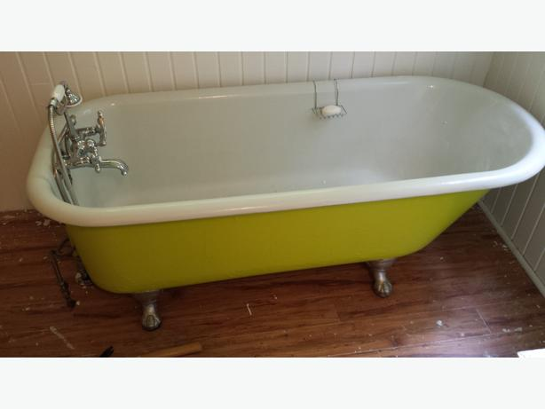 Clawfoot Tub Taps Esquimalt View Royal Victoria