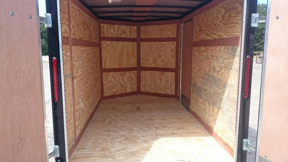 2016 6x10 2 39 v nose enclosed trailer buckingham sector for 102 hamilton terrace london
