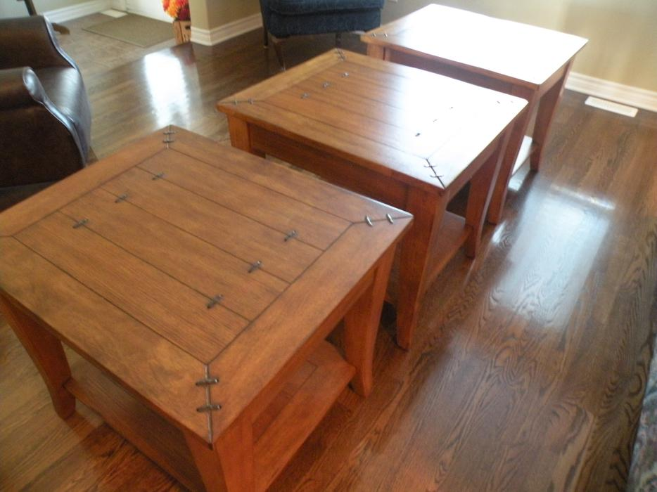 Coffee tables end tables outside ottawa gatineau area for Coffee tables london ontario