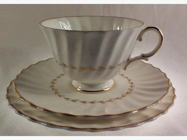 Royal Doulton Adrian teacup trio