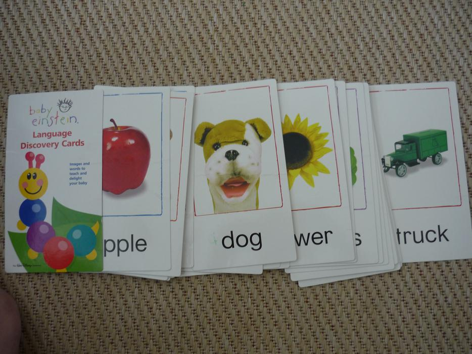 Flash Cards Baby Einstein Language Discovery Cards