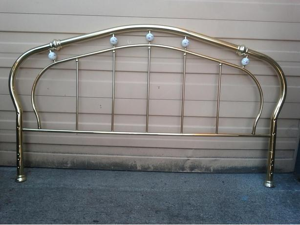 Brass Coated King Headboard