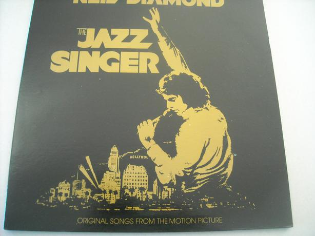 NEIL DIAMOND---THE JAZZ SINGER..LOVE INTHE GREEK..VINYL