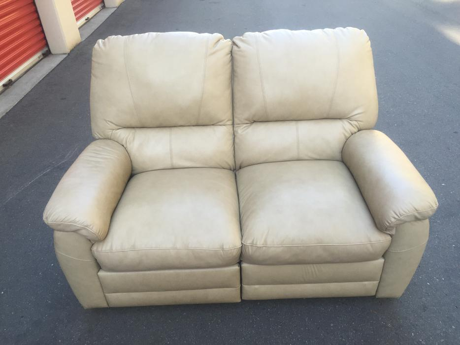 High Quality Leather Reclining Loveseat Esquimalt View Royal Victoria