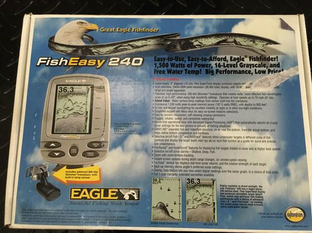Eagle Fisheasy 240 Fishfinder Nos South Regina Regina