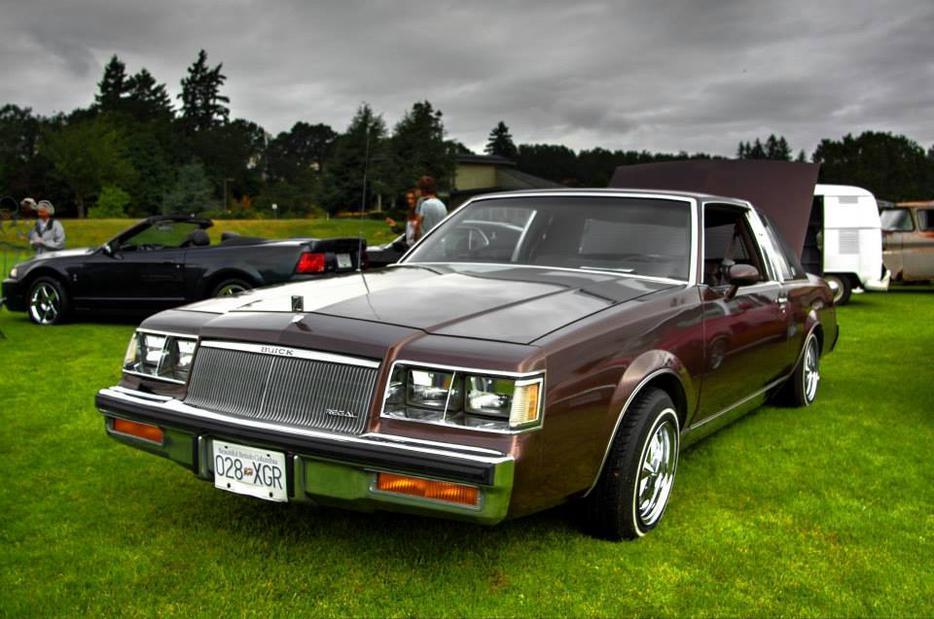 1984 Buick Regal Limited Lowrider Outside Nanaimo Nanaimo