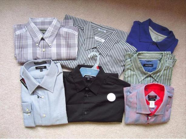 7 New Men's Shirts