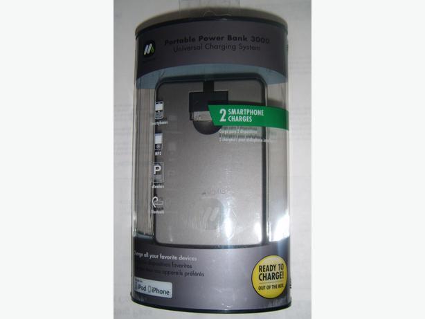 Universal Portable Power Bank 3000