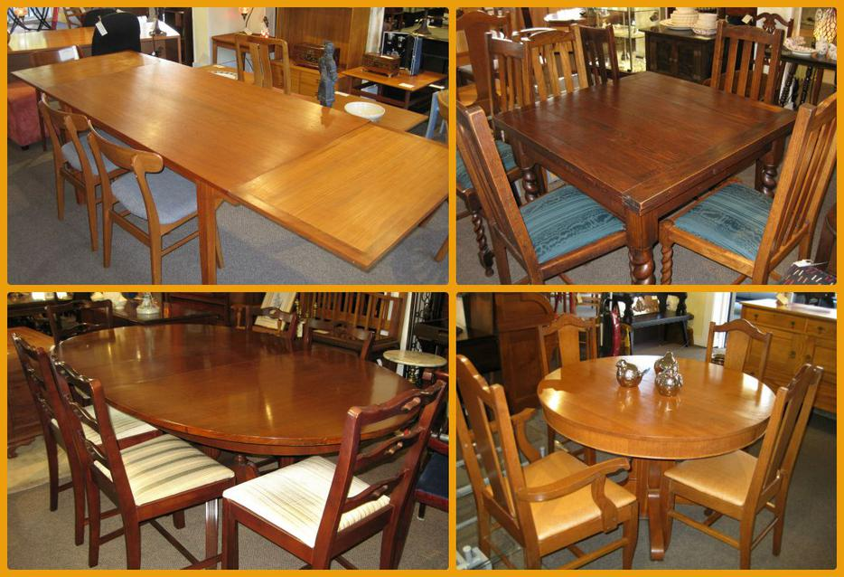 Great selection of dining tables and chairs at charmaine s