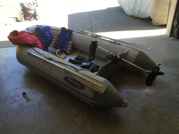 zodiac sb 285 and stealth 350 electric trolling motor