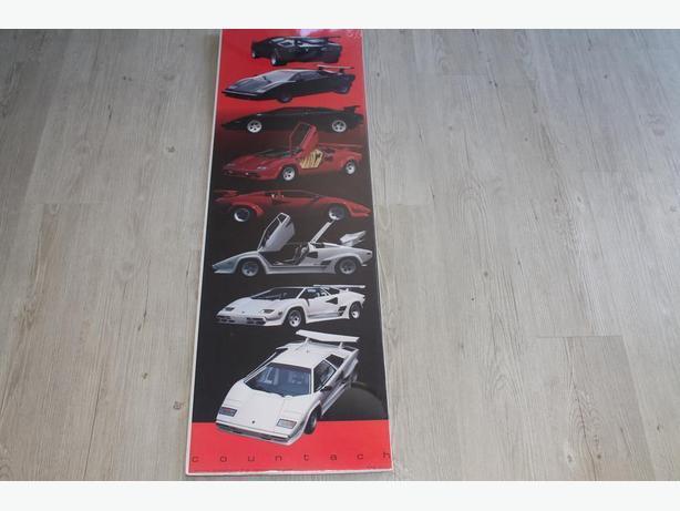 Various Lamborghini poster