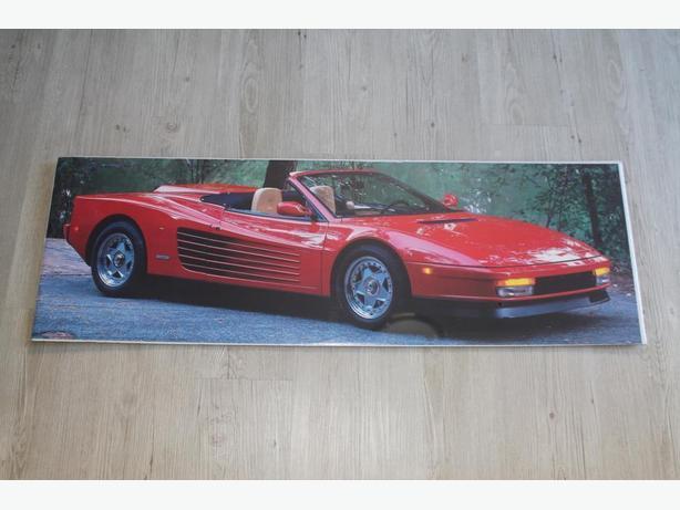 Ferrari Testarosa poster