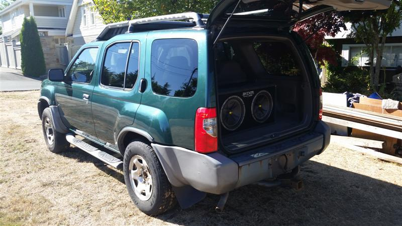 2001 nissan xterra 4x4 qualicum nanaimo mobile. Black Bedroom Furniture Sets. Home Design Ideas