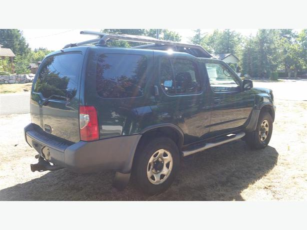 2001 nissan xterra 4x4 qualicum parksville qualicum beach mobile. Black Bedroom Furniture Sets. Home Design Ideas