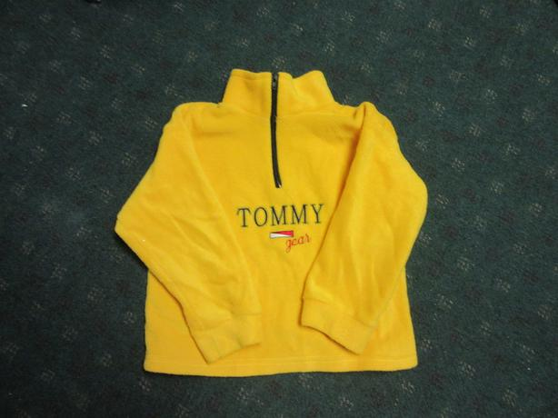 Tommy kids 3/4 zip hoodie Size 6 LIKE NEW